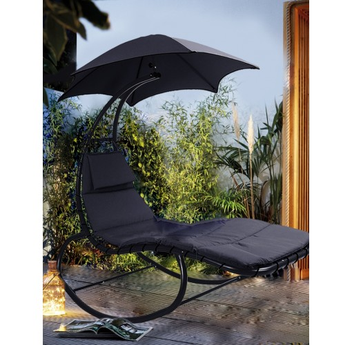 Swing Helicopter Sun Lounger Rocking Chair Seat Sun ...