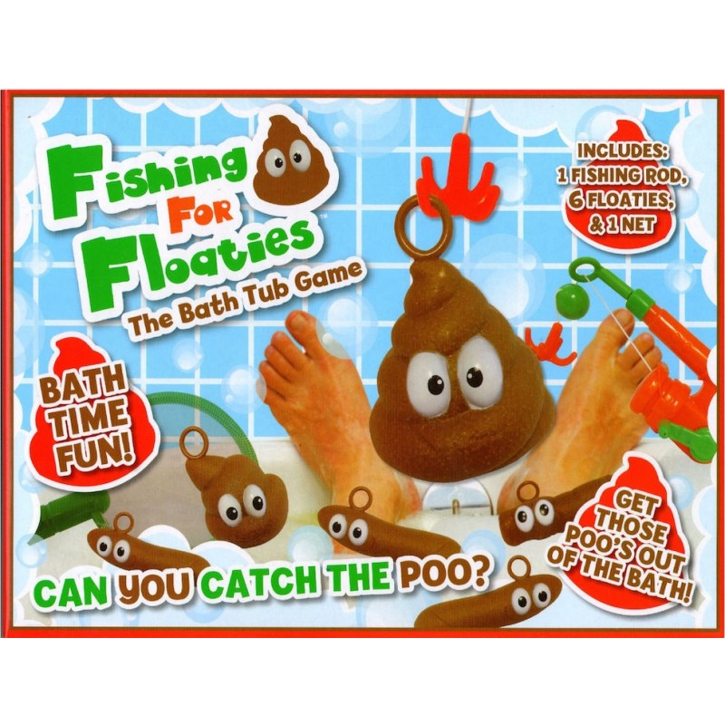 KandyToys Fish For Floaters Kids Bath time Games