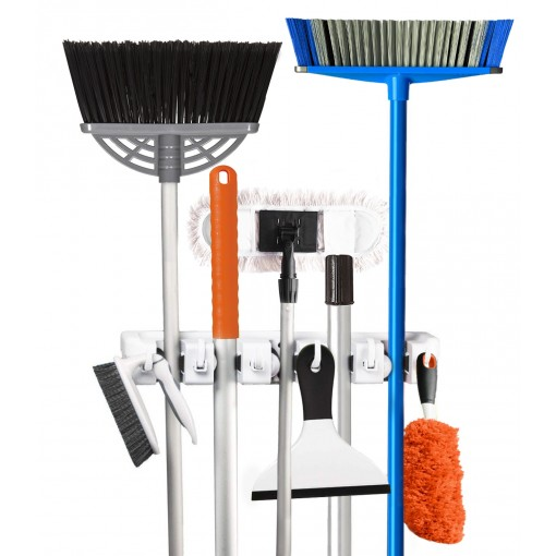Shop Wall Mount Mop Broom Holder UK